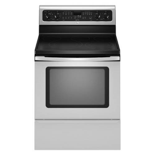 Whirlpool : GFE461LVB 30 Freestanding Electric Range Black
