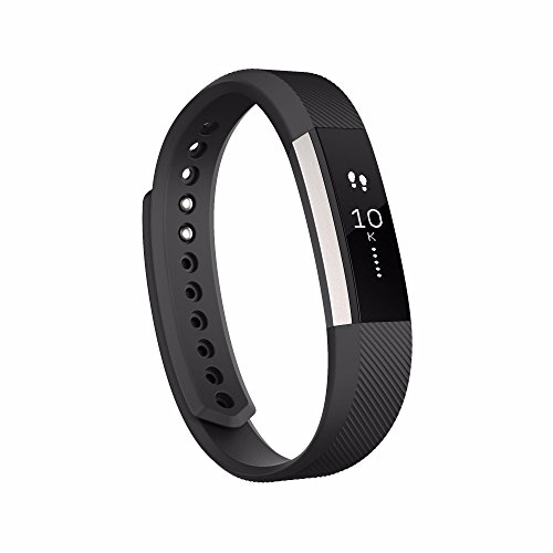 Alta Wireless Activity and Fitness Tracker Smart Wristband,Sleep Monitor,Sport Wristbands Silver/Black, Large (6.7-8.1 Inch) (US Version)