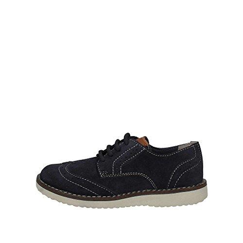 Geox J826UA 00022 Lace-Up Heels Kind Blau 33