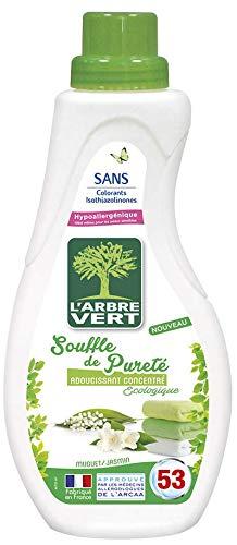 L'Arbre Vert Adoucissant concentré Souffle de pureté, muguet & jasmin - Le bidon de 800ml