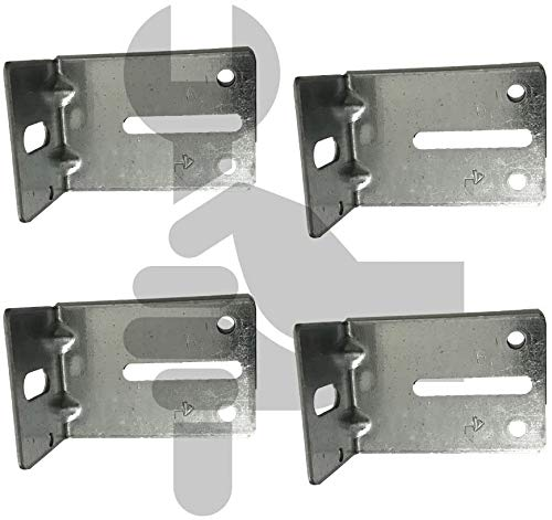 COLIBROX Garage Door Track Jamb Bracket Size J-6 PK- 4