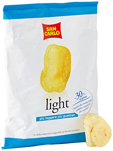 San Carlo Patatine Chips Light, 75g