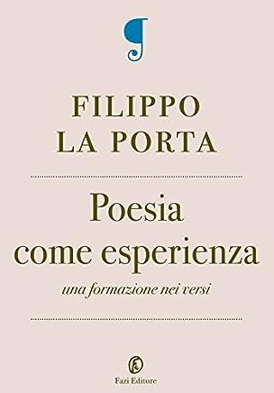Poesia come esperienza: Una formazione nei versi