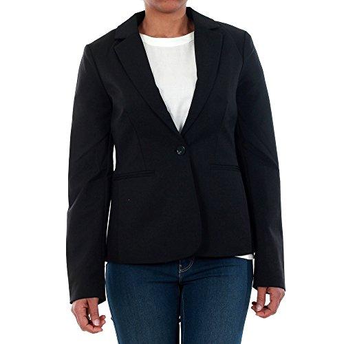 Vero Moda Vmvictoria LS Blazer Noos Chaqueta de Traje, Negro (Black), 34 (Talla del Fabricante: X-Small) para Mujer