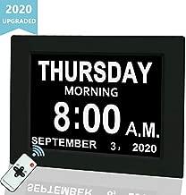 Digital Calendar Alarm Day Clock, 8