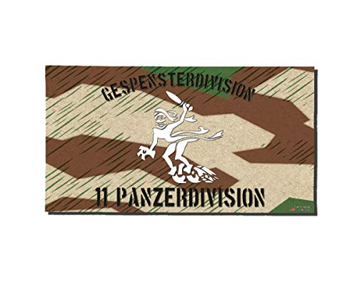 Copytec Poster Gespensterdivision 11 Panzer-Division Splittertarn Plakat ab30x16cm#30256, Poster Größen 4:42x23 cm, Farbe:Mehrfarbig