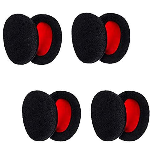 Xrten 4 Paar Bandlosen Earmuffs Ohrenschützer Winter Outdoor Ohrwärmer