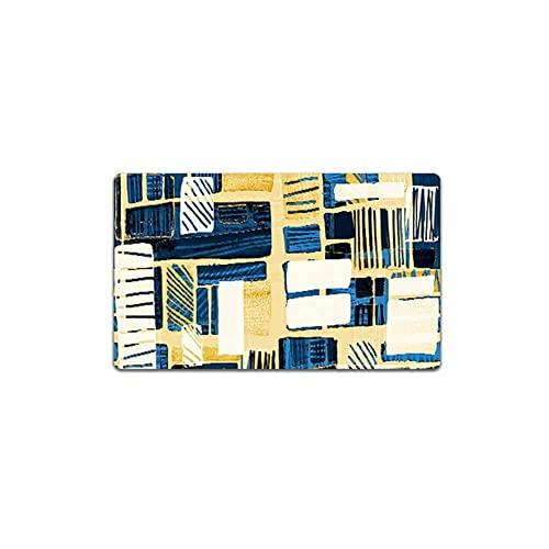 Dpliu 2 PCS Establecer tapetes de Cocina Classic Comfort Chef Suave sin Deslizamiento Impermeable CLORURO DE POLIVINILO Alfombra Cocina Piso Esteras Secas Abrigos Abrigos Aceites Feltomat