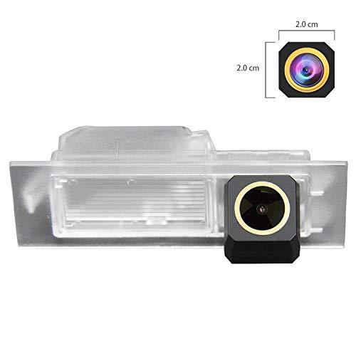 HD D\'oro Telecamera per retromarcia (1280x720p) Telecamere posteriori impermeabile Visone Notturna Retrocamera per Jeep Renegade Dodge Neon Fiat Tipo TIPO Fiat Egea 2015~2018