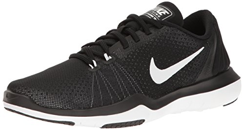 Nike Women's Black-White Multisport Training Shoes - 6 UK/India (40 EU)(8.5 US)