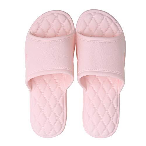 B/H zapatillasdemasajemujer,Zapatillas de Masaje para Interiores, Sandalias Antideslizantes para el hogar-Pink_40-75,UnisexSandaliasdemasaje,