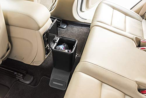 Car Trash Can Waste Container Plastic with lid. Leak Proof Vehicle Trash Bin. 0.8 GAL with Color Box.