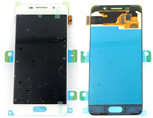 Original Samsung Galaxy A3 (2016) A310F A310 AMOLED LCD Display Touchscreen Digitizer Glas Service Ersatzteil Einheit Weiß OCTA GH97-18249A