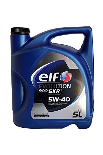 ELF Evolution 900 SXR 5 W-40 Huile dans Le bidon de 5 L