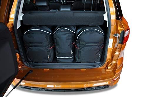 KJUST Dedizierte Reisetaschen 3 STK Set kompatibel mit Ford ECOSPORT II 2017 -