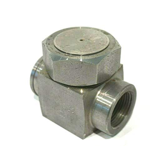 """Spirax sarco medidor de presión bar 0-6 e60051214spi 100 vert 1//2/"""" nuevo!"""