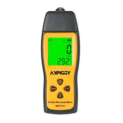 Handheld Carbon Monoxide Meter,High Precision CO Detector,Portable CO Gas Leak Detector, CO Gas Monitor Tester 1000ppm