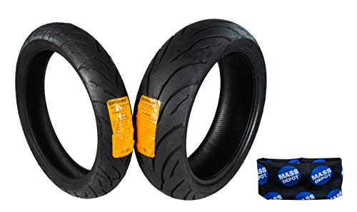 Continental Conti Motion Tire 120/70-17 190/50-17 With Keychain (120/70 ZR 17 190/50 ZR 17)