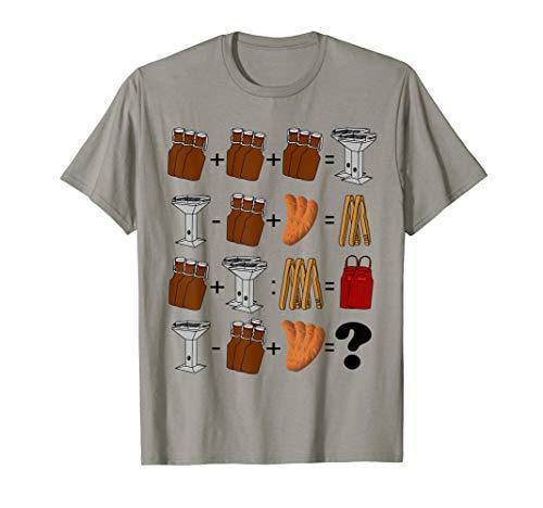 Herren Rätsel Spaß beim Grillen nicht nur für den Grillsportverein T-Shirt
