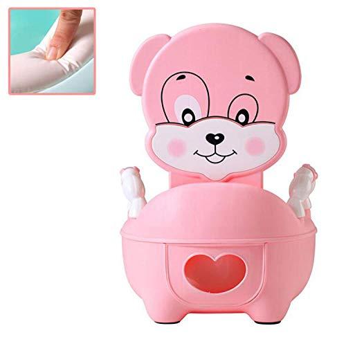 Sedile WC portatile per bambini Vasino Sedile vasino per bambini Vasino vasino Vasino multifunzione per vasino-Rosa