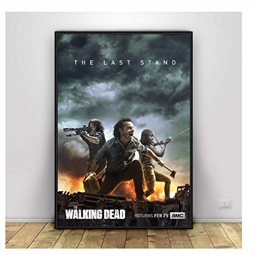 póster the walking dead fabricante Suuyar