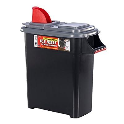 Buddeez 09801GRAY-ONL Ice Melt Dispenser, 09801GRAY-ONL