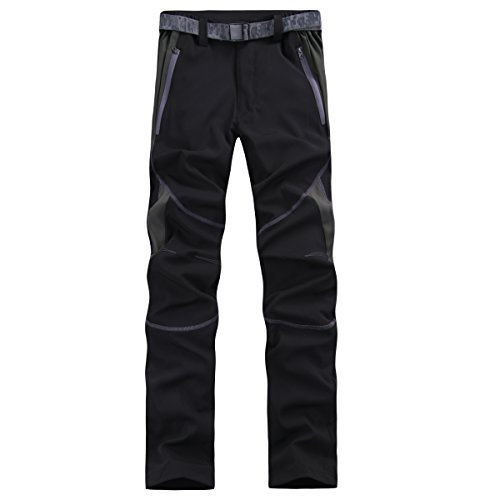 emansmoer Femme Imperm/éable Respirant Quick Dry L/éger /Élastique Pantalon Outdoor Sport Camping Randonn/ée P/êche Pants