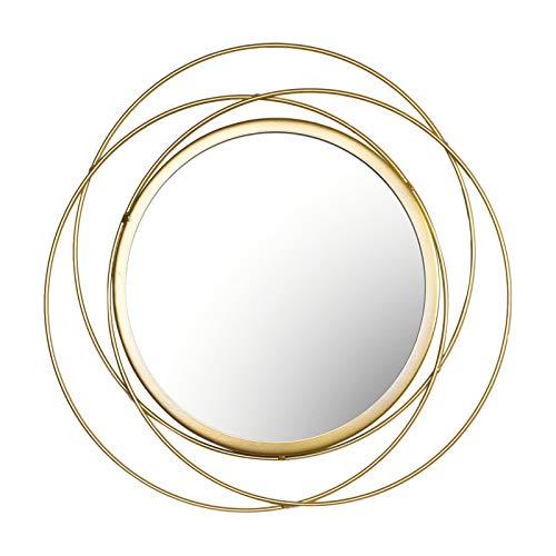 Doans Espejo De Pared Espejo De Pared Decorativo Redondo Espejo Colgante Espejo Redondo Espejo De Ratán Redondo De Pared Redondo Grande para Baño O Pasillo De Entrada Big Sale