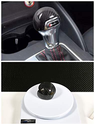 MAX AUTO CARBON Voll Carbon Echt Carbon Schaltknauf Schalthebel Knauf passend für A1 A3 S3 TT TTS