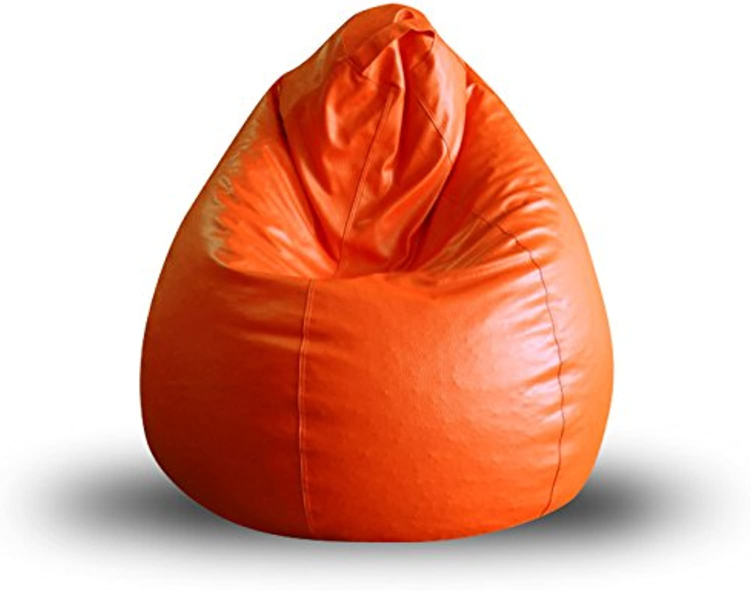 Style Homez Classic Bean Bag XL Size orange Cover Only