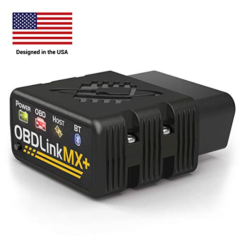 OBDLink MX+ OBD2 Bluetooth Scanner for iPhone, Android, and Windows