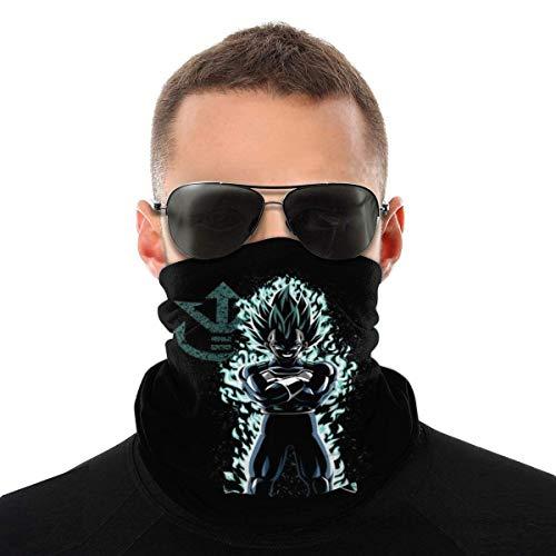 Night-Shop Galaxy Vegeta Shadows Dragon Ball Z Vielzahl Kopftuch Gesichtsschutz Magic Headwear Neck Gaiter Gesicht Bandana Schal