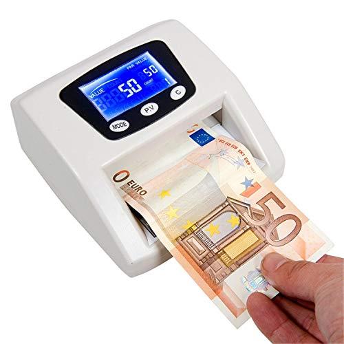 081 Store - Money Detector Rilevatore Banconote false Contatore soldi Aggiornabile Verifica Conta Euro