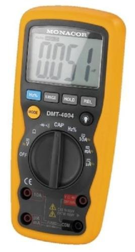 Veka–Multímetro digital profesional IP671000V 10A frequencemetre capacimetre