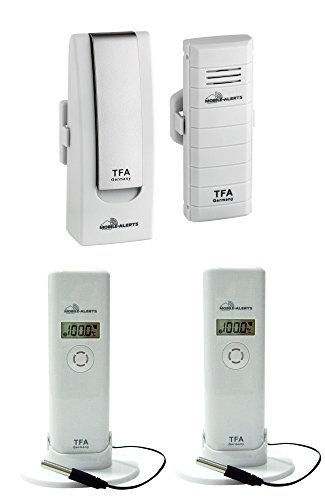 Weatherhub Solar Heizung Temperatur Überwachungsset TFA 31.4001.02.10 Temperaturkontrollgerät