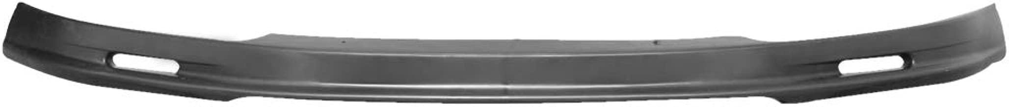 Front Bumper Lip Compatible With 1993-1997 Honda Del Sol JDM Black PP - Polypropylene Spoiler Splitter Valance Fascia Cover Guard Protection Conversion by IKONMOTORSPORTS | 1994 1995 1996