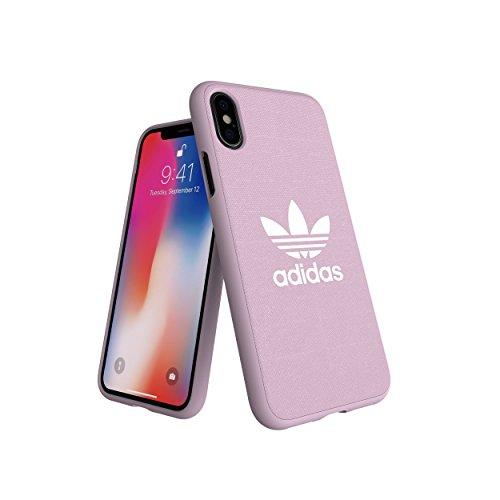 Adidas Originals Adicolor - Carcasa para iPhone XS/X, Color Rosa