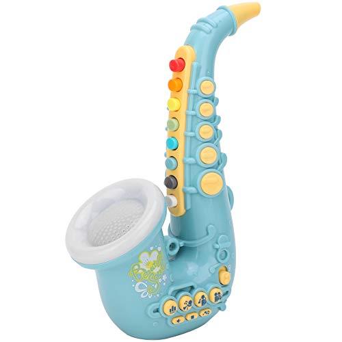 Saxofón de Juguete eléctrico para niños, Puede Reproducir música y ser Tocado...