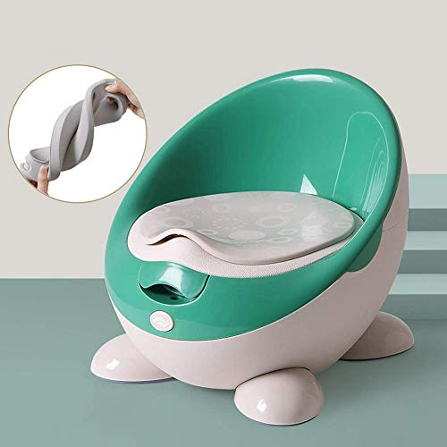 Sdesign Siège de propreté for Enfants, 2-en-1 Baby Potty Chair Toddler Enfants Entraînement for siège de Toilette Easy Clean (Bleu)