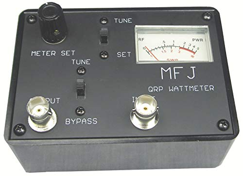 MFJ-9218 QRP Pocket SWR Wattmeter with Built-in 5W Dummy Load. Buy it now for 70.19