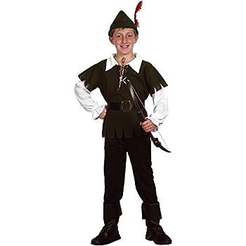 Disfraz de Robin Hood para niño - 4 - 6 años: Amazon.es: Juguetes ...