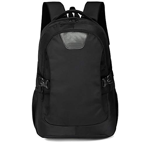 CLCCYYSJD Laptop Backpack Charging Anti Theft Backpack for Teenagers Large Capacity Laptop Men Backpacks (Color : Black)