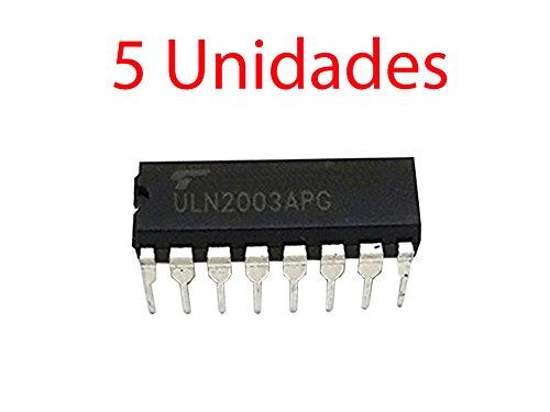 5x Darlington Transistor ULN2003APG DIP16