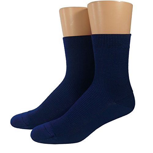 Shimasocks Kinder Öko Socken 100prozent kbT Wolle, Größe:35/38 bzw. 134/146, Farben alle:royal
