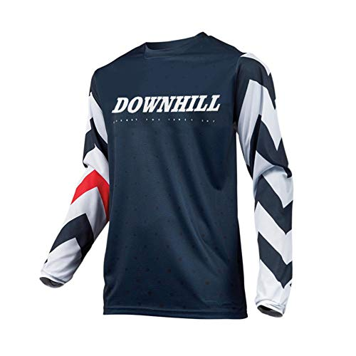 Uglyfrog Downhill Trikot Lange Ärmel Herren Mountainbike Freeride BMX Fahrradtrikot Motocross MTB/Downhill Bekleidung