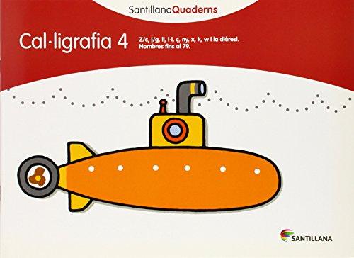 CAL.LIGRAFIA 4 SANTILLANA QUADERNS - 9788468013626