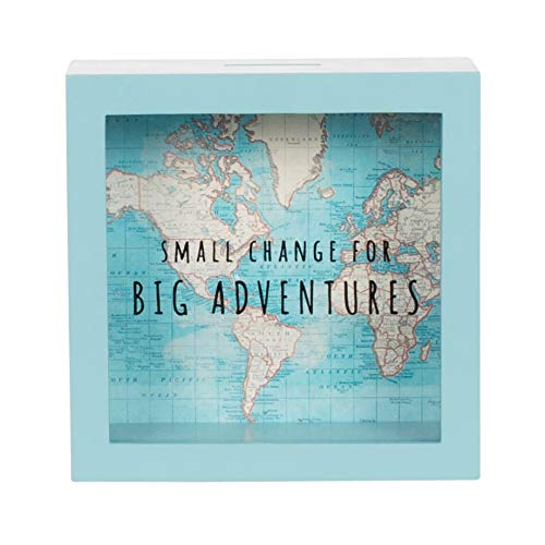 Sass & Belle AD188 - Hucha grandes aventuras vintage map