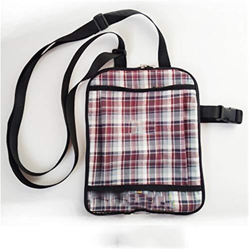 QINAIDI wasserdichte Katheter-Tasche Stoma-Tasche Feste Tasche mit verstellbarem Schultergurt, Urinbeutel-Rucksack,1,1000ml