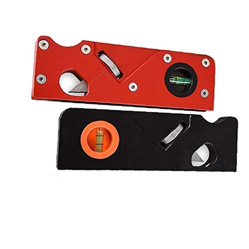 xiaocheng Manual de Bloque Planer Biselado carpintería metálica Bloque de Bricolaje 45 Grados Herramienta Recorte Rojo Bisel Industrial Kit de Trabajo de Bricolaje