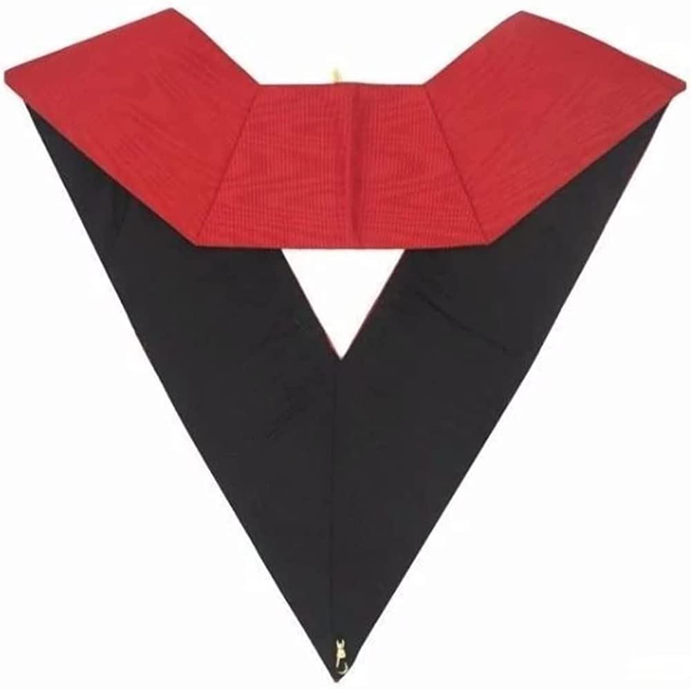 Masonic AASR collar 18th degree - Knight Rose Croix - Secretary